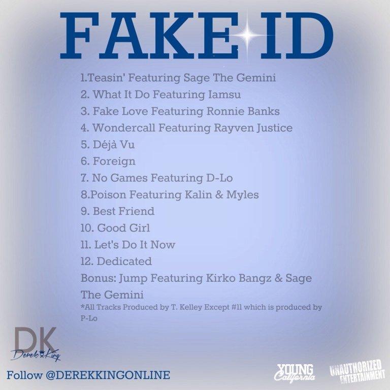 derek king tracklist